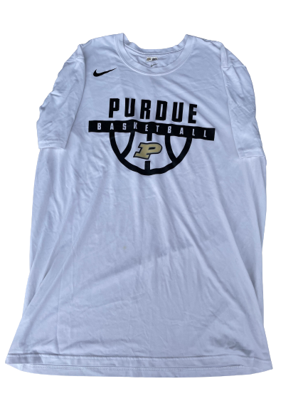 Nojel Eastern Purdue Basketball Team Issued Workout Shirt (Size XL)