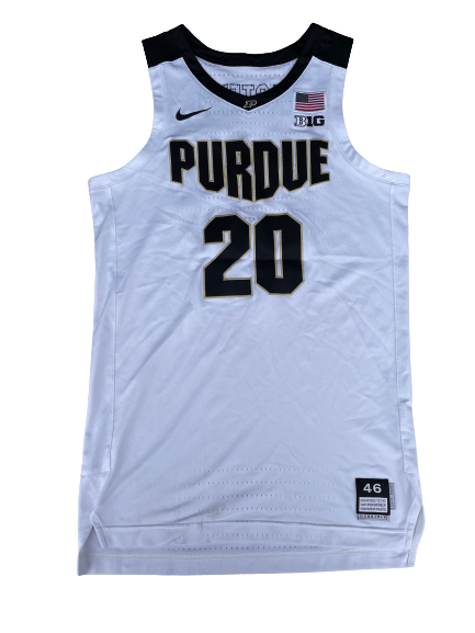 Nojel Eastern Purdue Basketball 2019-2020 Game Worn Jersey - Photo Matched