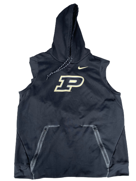 Nojel Eastern Purdue Basketball Team Issued Sleeveless Hoodie (Size XL)