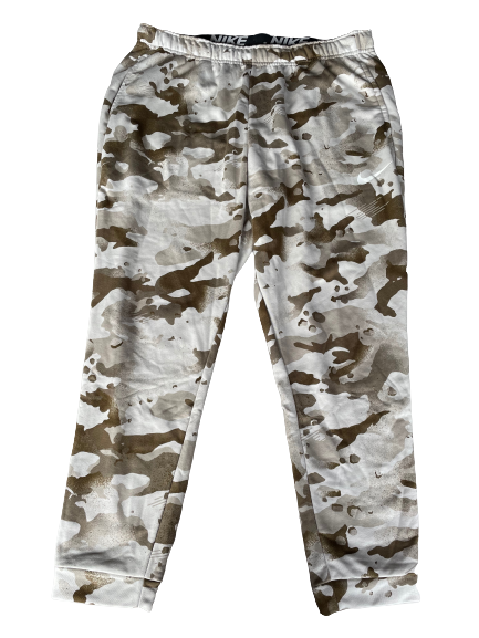 Matt Skura Baltimore Ravens Team Exclusive Camo Sweatpants (Size 3XL)