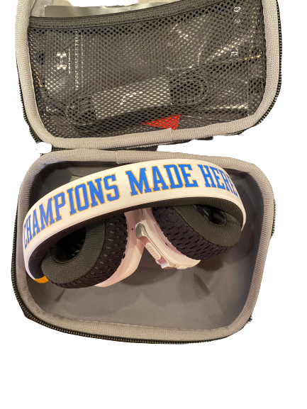 "Lily Justine UCLA Player Exclusive ""Champions Made Here"" JBL Headphones"