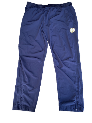 Tommy Kraemer Notre Dame Football Sweatpants (Size XXXL)