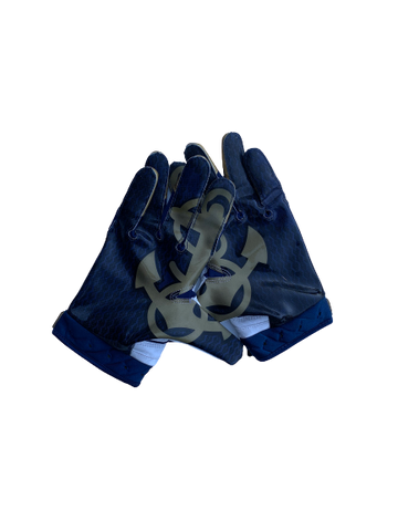 Navy Football Gloves - Rivalry Series vs. Army WITH Special Edition Box (Size L)