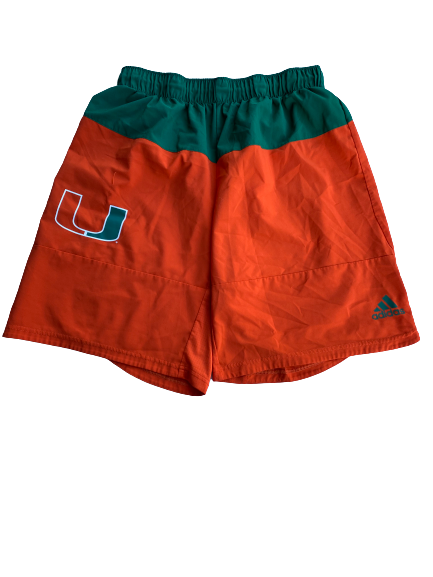 Slade Cecconi Miami Baseball Team Issued Workout Shorts (Size L)