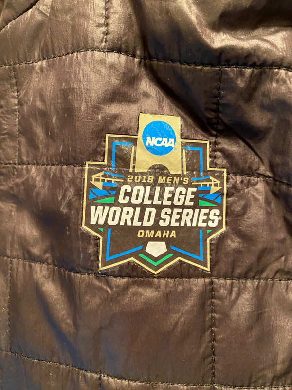 Grant Gambrell 2018 College Baseball World Series Exclusive Winter Jacket (Size XXL)