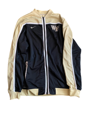 Torry Johnson Wake Forest Nike Zip-Up Jacket (Size LT)