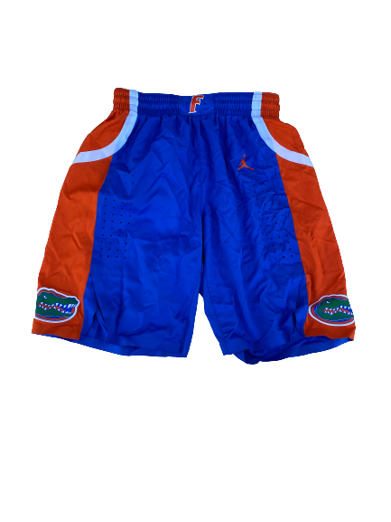 Scottie Lewis Florida Basketball 2018-2019 Season Game-Issued Shorts (Size 36)