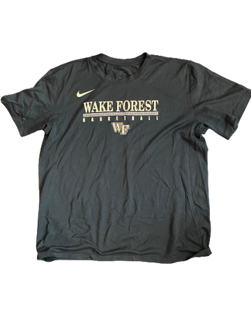 Torry Johnson Wake Forest Nike T-Shirt With Number On Back (Size L)