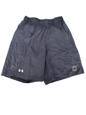Elliott Fry South Carolina Team Issued Workout Shorts (Size L)
