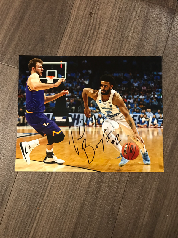 Joel Berry Autographed 8x10 Photo