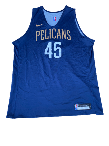 Zylan Cheatham New Orleans Pelicans Reversible Practice Jersey (Size XLT)