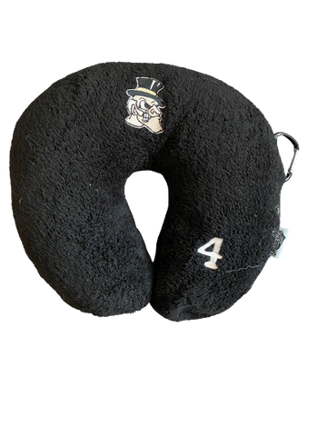 Torry Johnson Wake Forest Neck Pillow With Number