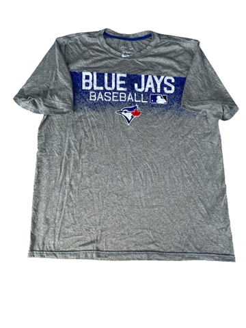 Scotty Bradley Toronto Blue Jays Team Issued Shirt (Size XL)