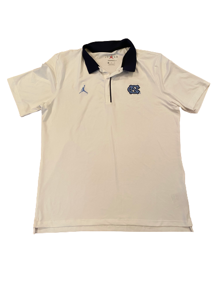 Myles Wolfolk North Carolina Football Team Issued Polo Shirt (Size L)