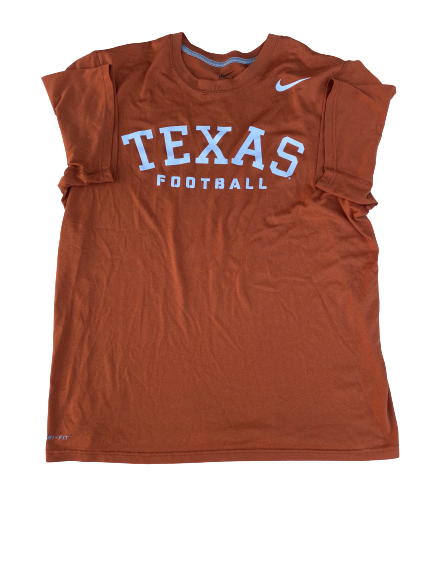 Dylan Haines Texas Football Team Exclusive Shirt (Size L)
