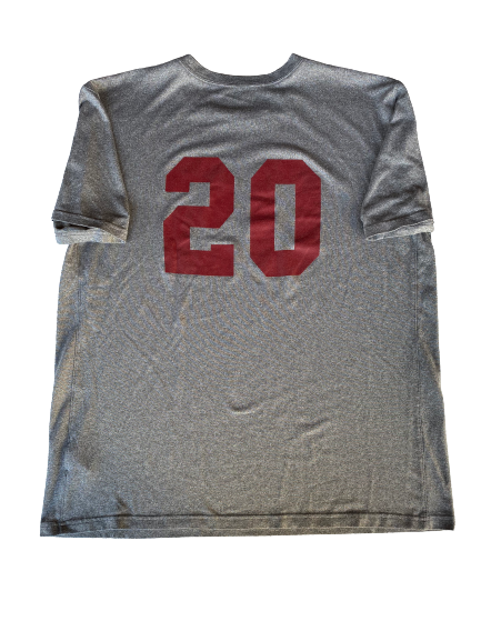 Austin Manning USC Team Issued Practice Shirt with Number (Size L)