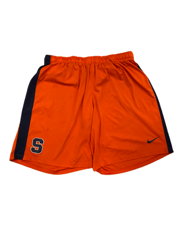 Brandon Berry Syracuse Football Workout Shorts (Size XXXXL)