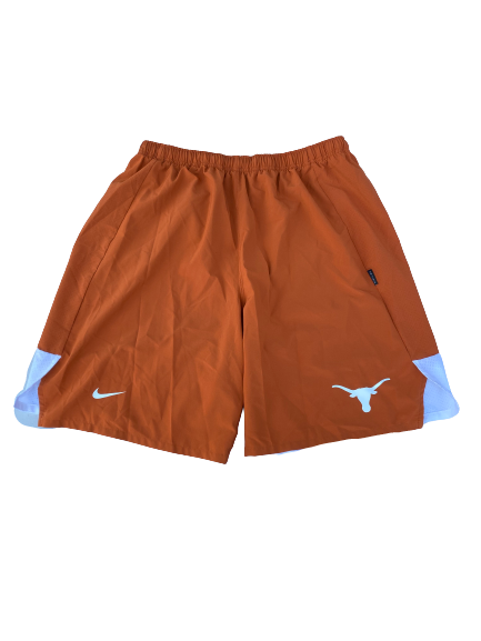 Blake Nevins Texas Team Issued Workout Shorts (Size XL)