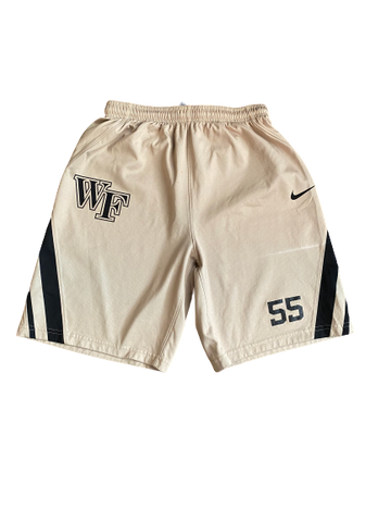 Torry Johnson Wake Forest Basketball Practice Shorts (Size M)