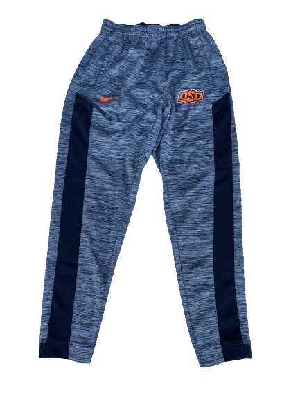 Curtis Jones Oklahoma State Team Issued Sweatpants (Size M)