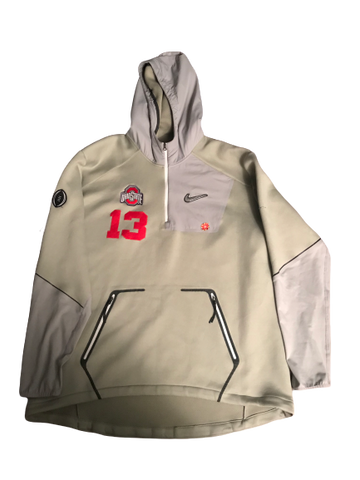 Rashod Berry Ohio State College Football Playoff PE Hoodie (Size 2XL)