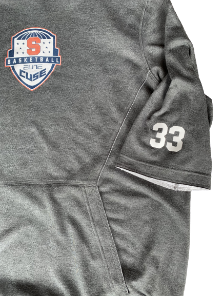 Elijah Hughes PE Syracuse Basketball Elite Camp Short Sleeve Hoodie