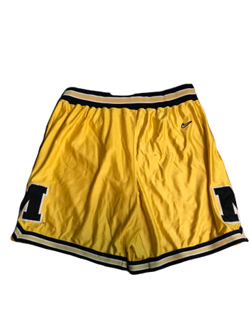 Zak Irvin University of Michigan Fab 5 NIKE Shorts