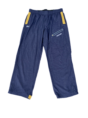 V.J. Beachem Notre Dame Under Armour Sweatpants (Size XL)