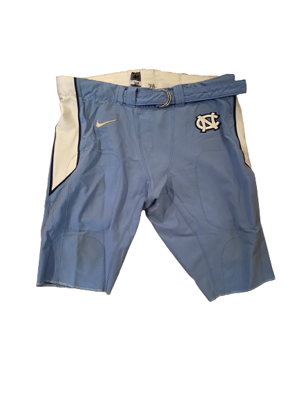 Landon Turner North Carolina Football Pants (Size 46)