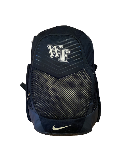 Kendall Hinton Wake Forest Football Team Issued Backpack