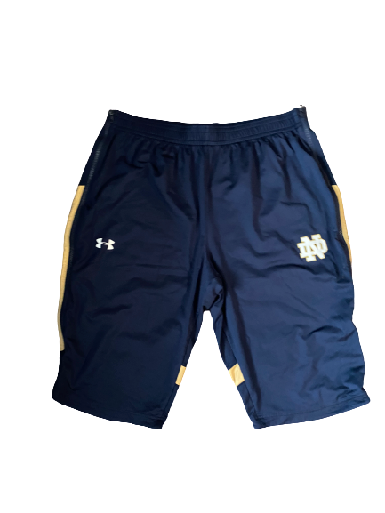 John Mooney Notre Dame Team Issued Shorts (Size XXL)