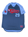 Hunter Jarmon Fort Wayne TinCaps Batting Practice Worn Jersey (Size XXL)