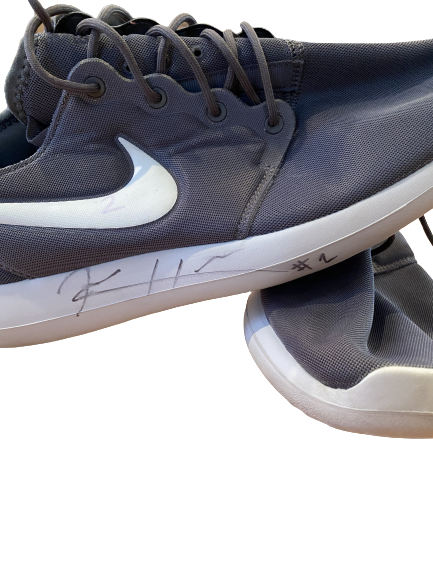 Kendall Hinton Wake Forest SIGNED Nike Shoes