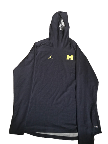 Nolan Ulizio Michigan Team Issued Jordan Sweatshirt (Size XXXL)