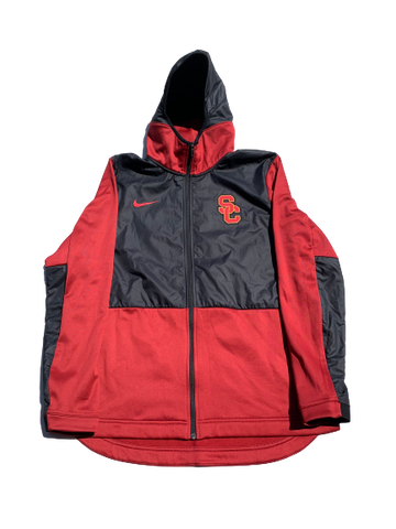 Jonah Mathews USC Nike Zip-Up Jacket (Size L)