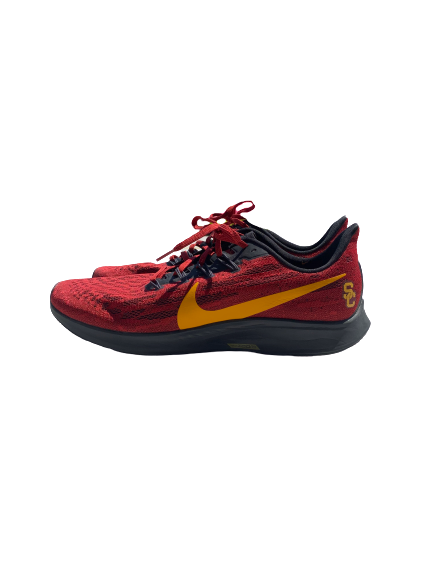 Jonah Mathews USC Trojans Air Zoom Pegasus 36 Running Shoes (Size 14)