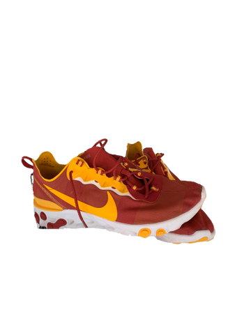 Jonah Mathews USC Trojans Nike React Element 55 Sneakers (Size 14)