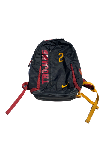 Jonah Mathews USC Nike Backpack With Number