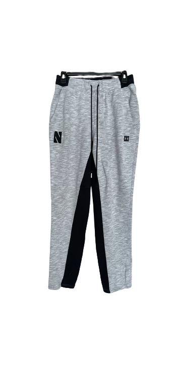 Bryana Hopkins Northwestern Basketball Sweatpants (Size L)