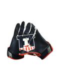Nolan Bernat Illinois Team Exclusive Football Gloves (Size XL)