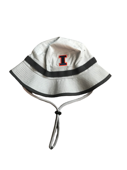 Nolan Bernat Illinois Football Team Issued Bucket Hat
