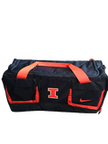 Nolan Bernat Illinois Football Team Issued Travel Duffel Bag