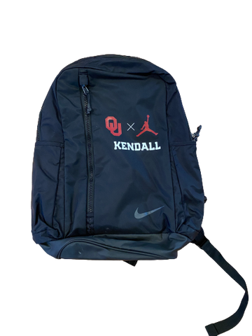 Austin Kendall Oklahoma Football Player-Exclusive Jordan Backpack