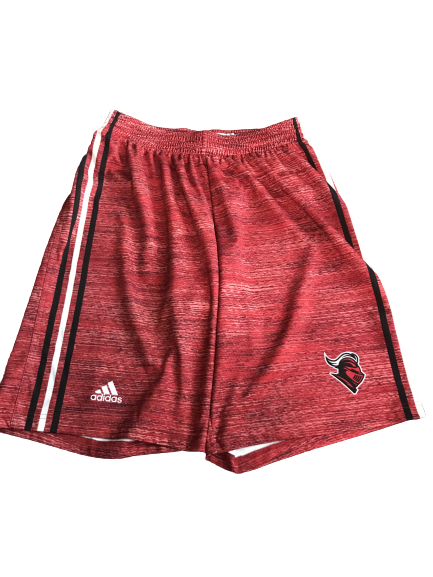 C.J. Gettys Rutgers Basketball Team Issued Practice Shorts (Size XL)