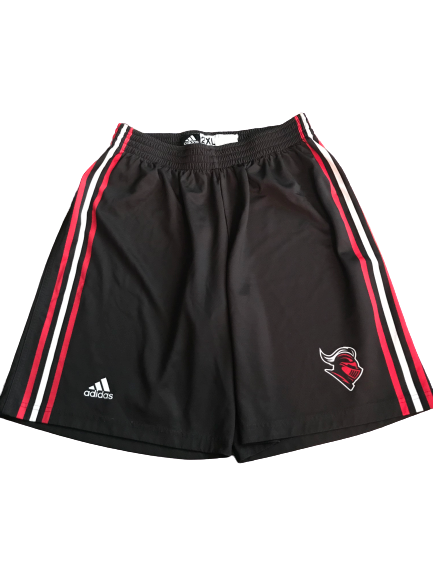 C.J. Gettys Rutgers Basketball Team Issued Practice Shorts (Size XXL)