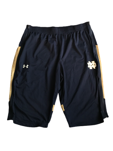 Elijah Burns Notre Dame Team Issued Shorts (Size XXL)