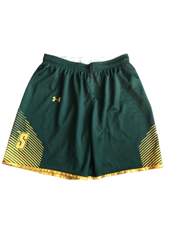 Elijah Burns Siena Basketball Team Issued Practice Shorts (Size XL)