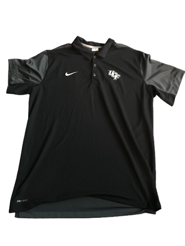 Tristan Reaves UCF Football Team Issued Polo Shirt (Size XL)