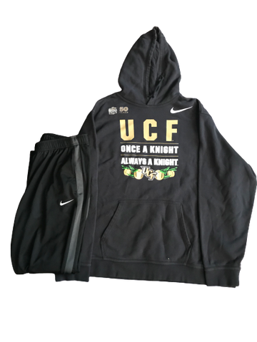Tristan Reaves UCF Football Team Issued Travel Set - Sweatshirt & Sweatpants