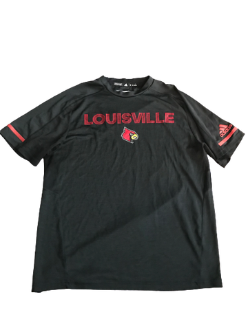 Cornelius Sturghill Louisville Team Issued Workout Shirt (Size L)
